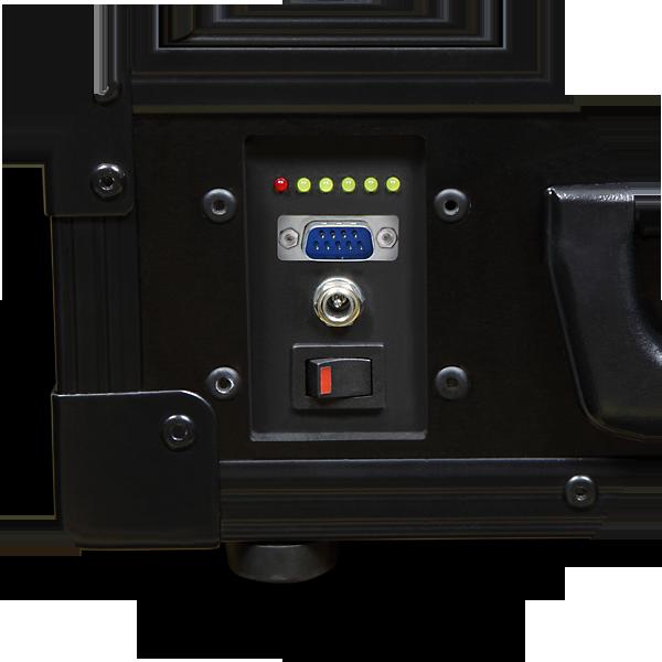 AXED BT350 walizkowa igłowa drukarka mobilna A4 - panel ze złączem RS232