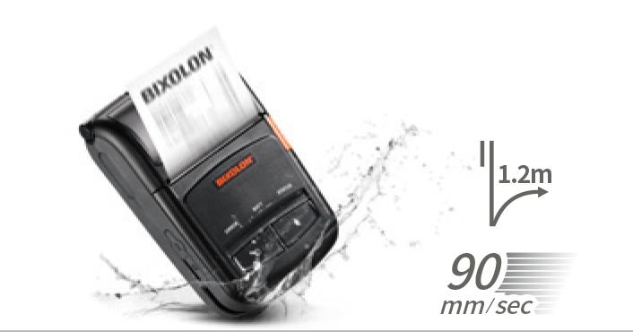 Bixolon SPP R210 – odporność na upadki 1,2 m