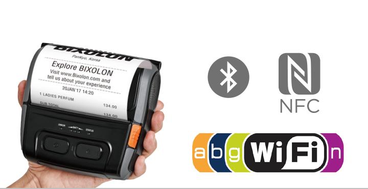 Bixolon SPP-R410 Bluetooth NFC WiFi