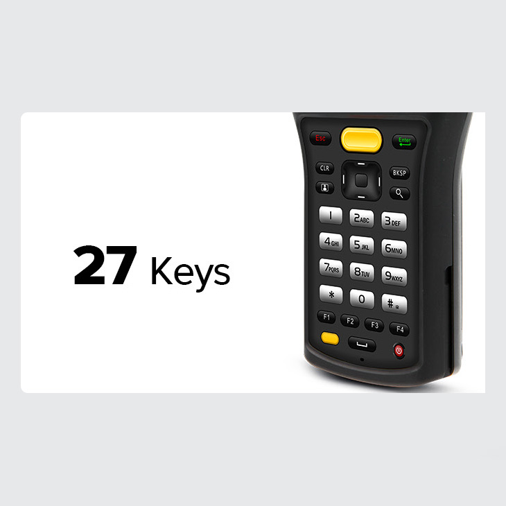 Chainway C61 - ręczny mobilny komputer przemysłowy - 27 klawiszy