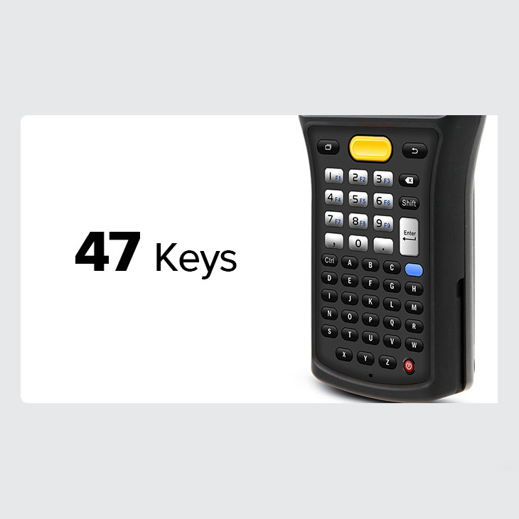 Chainway C61 - ręczny mobilny komputer przemysłowy - 47 klawiszy