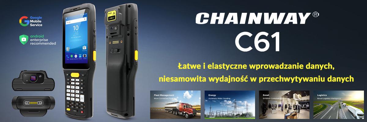 Chainway C61 - ręczny mobilny komputer przemysłowy - baner
