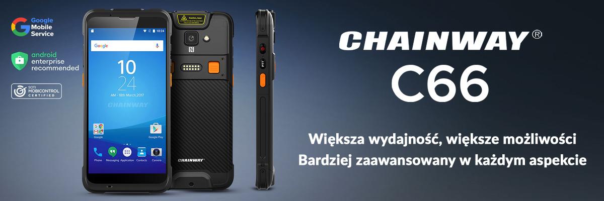 Chainway C66 - mobilny komputer przemysłowy - baner