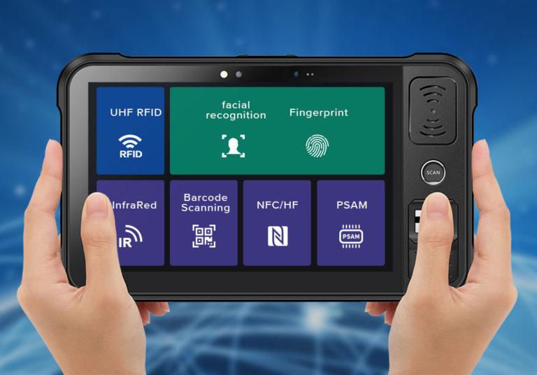 Chainway P80 - Tablet przemysłowy - bogactwo dostępnych funkcji
