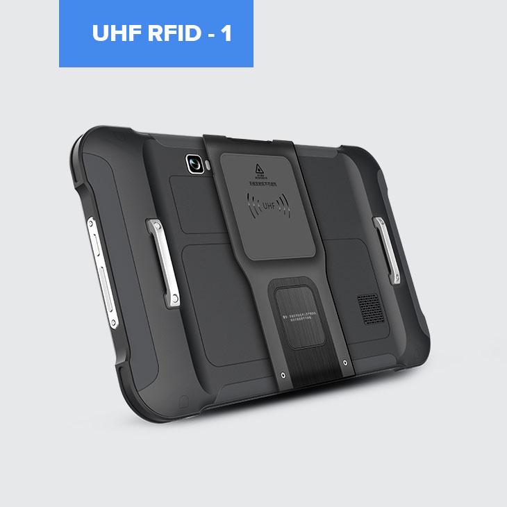 Chainway P80 - Tablet przemysłowy - czytnik UHF RFID 1 - widok z tyłu