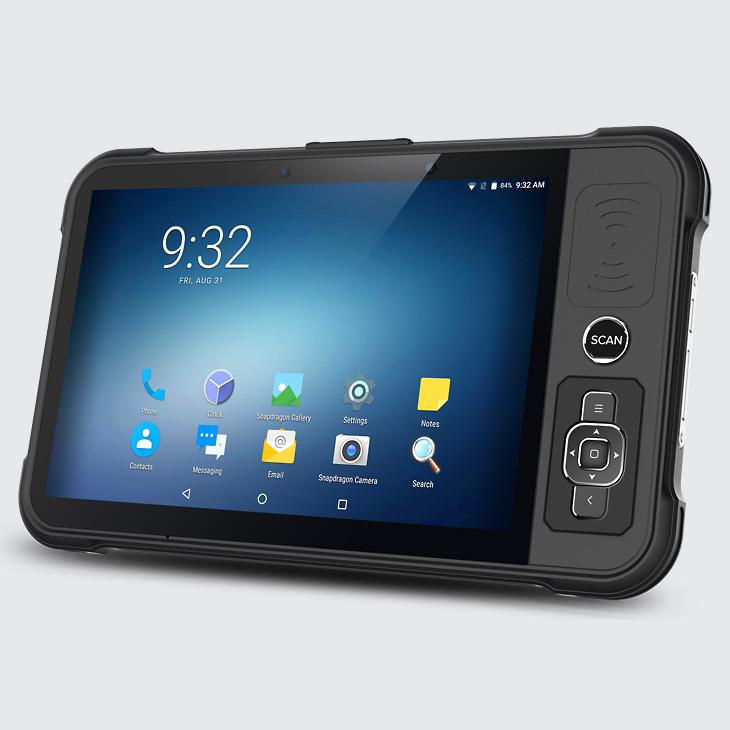 Chainway P80 - Tablet przemysłowy - moduł z przyciskami sterowania