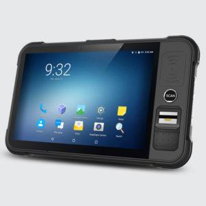 Chainway P80 - Tablet przemysłowy - optyczny czytnik linii papilarnych