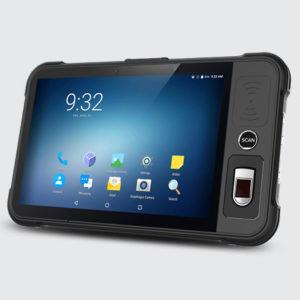 Chainway P80 - Tablet przemysłowy - pojemnościowy czytnik linii papilarnych TCS2
