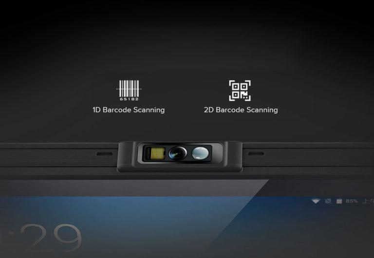 Chainway P80 - Tablet przemysłowy - precyzyjny skaner kodów kreskowych
