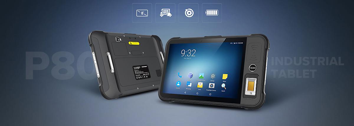 Chainway P80 - Tablet przemysłowy - właściwości