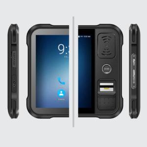 Chainway P80 - Tablet przemysłowy - widoki z boku