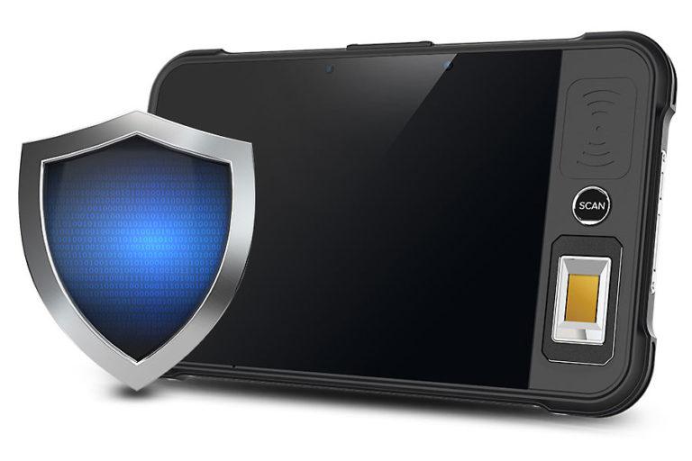 Chainway P80 - Tablet przemysłowy - wyższy poziom bezpieczeństwa - karty PSAM