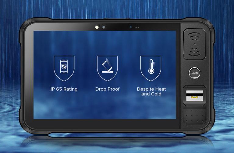 Chainway P80 - Tablet przemysłowy - wzmocniona konstrukcja