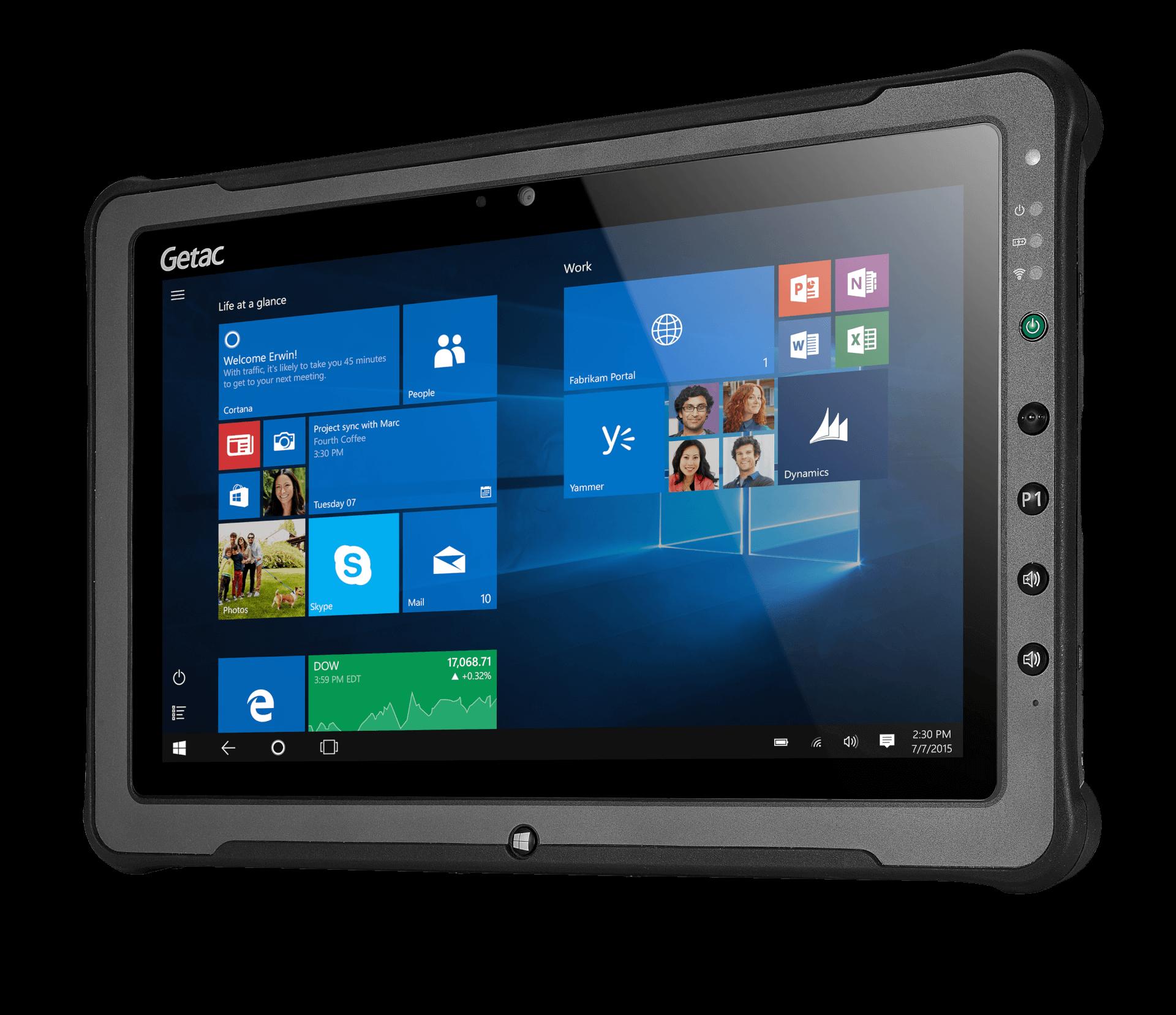 Getac F110 - tablet przemysłowy z ekranem FHD 11,6 cala