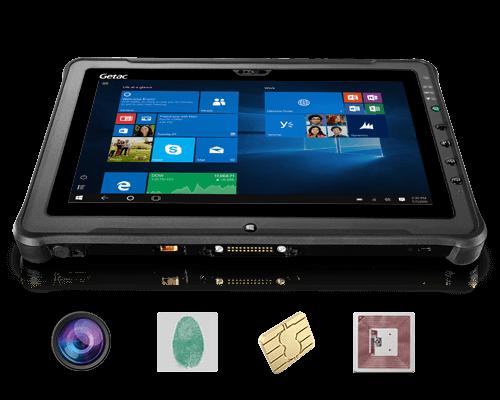 Getac F110 - bezpieczeństwo Windows 10