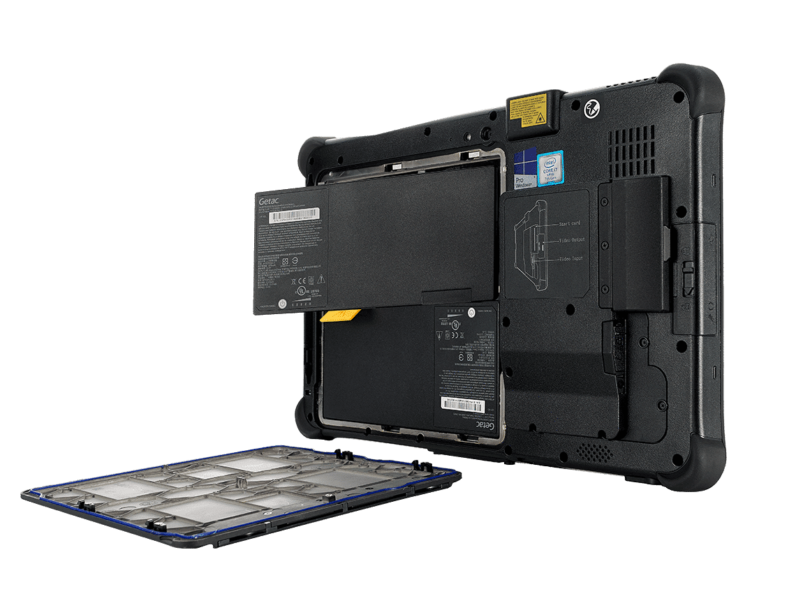 Getac F110 - dwa akumulatory