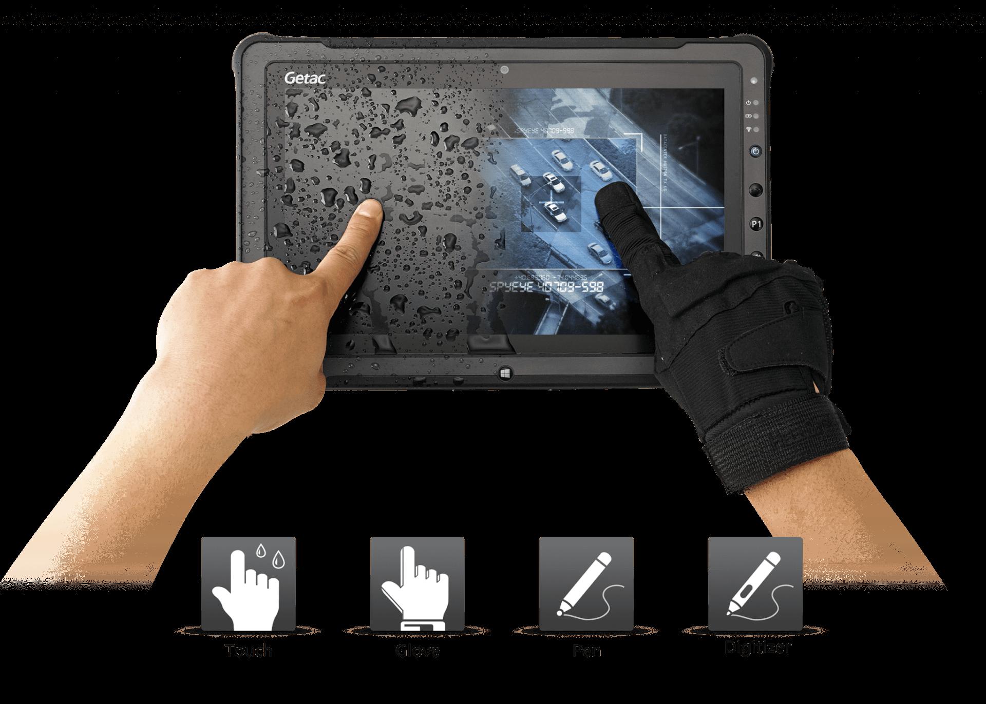 Getac F110 - ekran dotykowy LumiBond 2.0