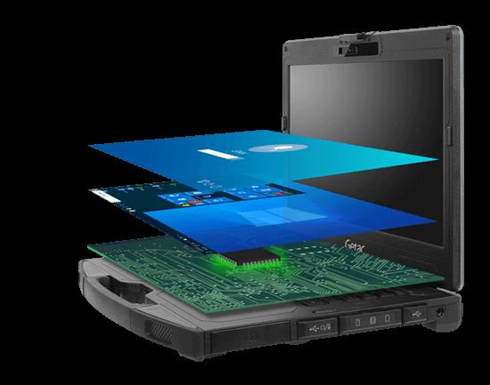 Getac S410 - Microsoft Secured Core PC