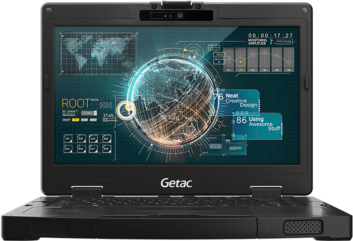 Getac S410 - Wzmocniony notebook przemysłowy