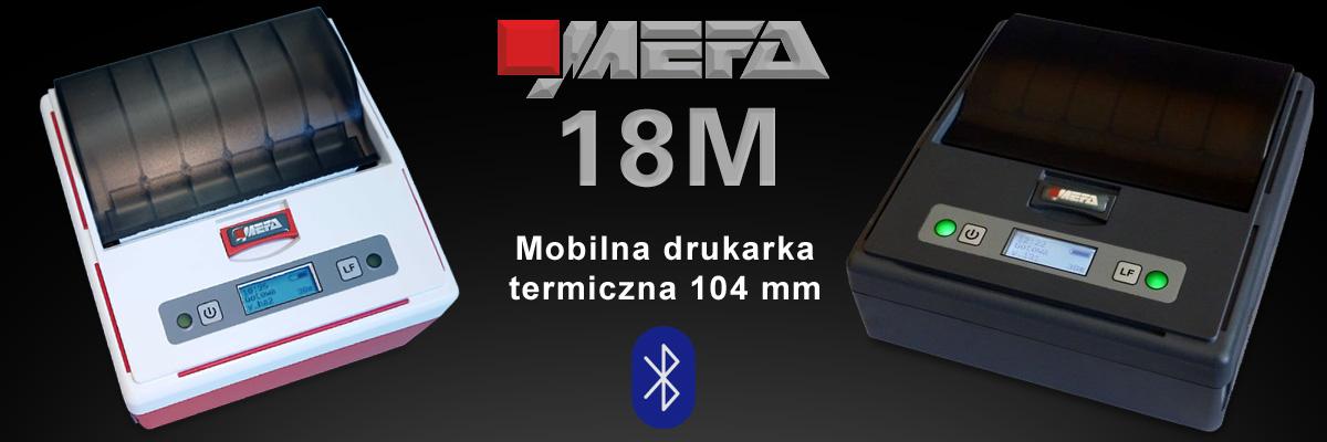 Mefa 18M - Mobilna drukarka termiczna Bluetooth