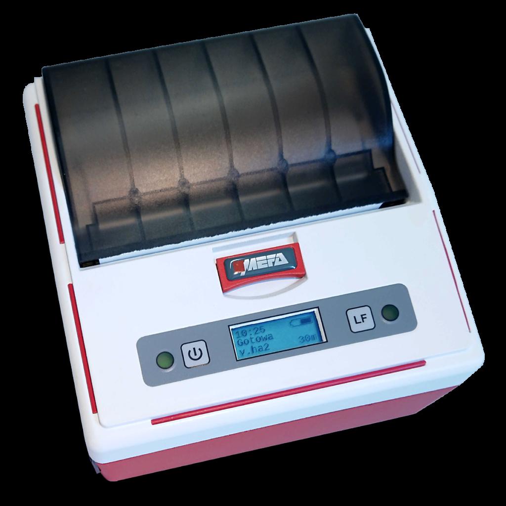 Mefa 18M - Mobilna drukarka termiczna Bluetooth - widok z góry