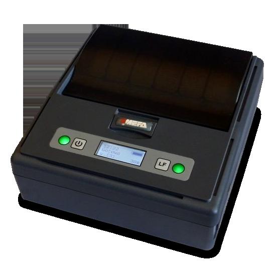 Mefa 18M - Mobilna drukarka termiczna Bluetooth -