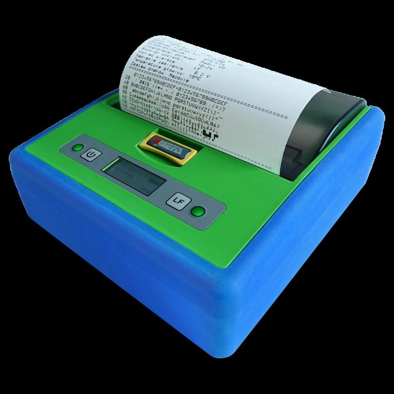 Mefa 18M - Mobilna drukarka termiczna - wydruk