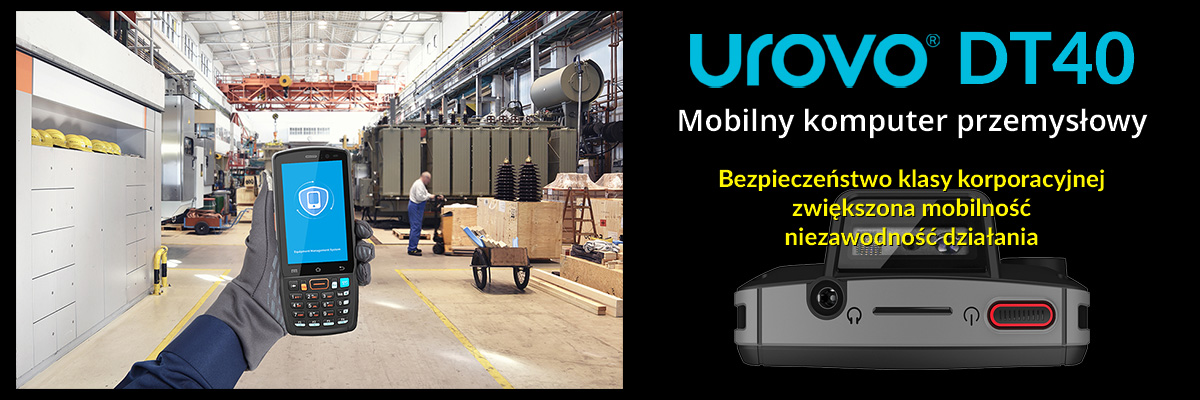 Urovo DT 40 Mobilny komputer przemysłowy