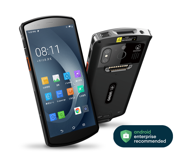 Urovo DT50 – Certyfikat Android Enterprise Recommended