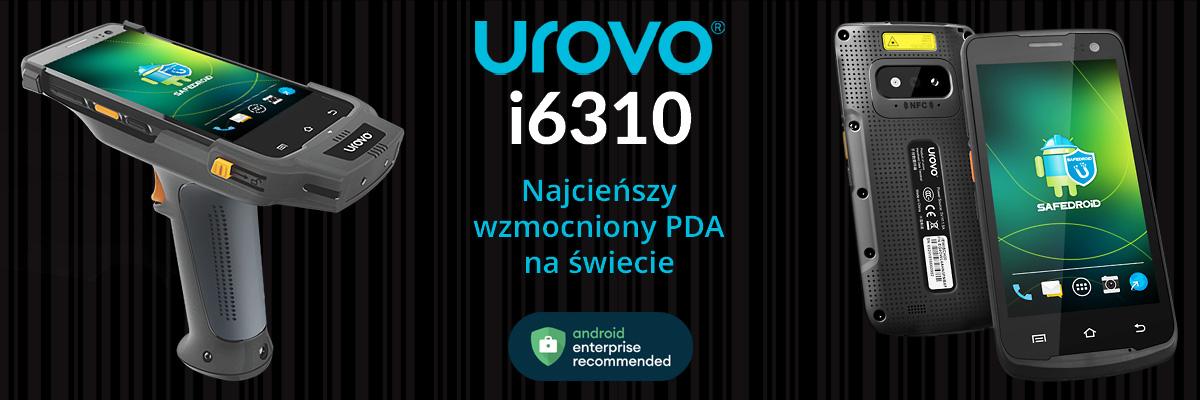 Urovo i6310 Najcieńszy wmocniony PDA na świecie