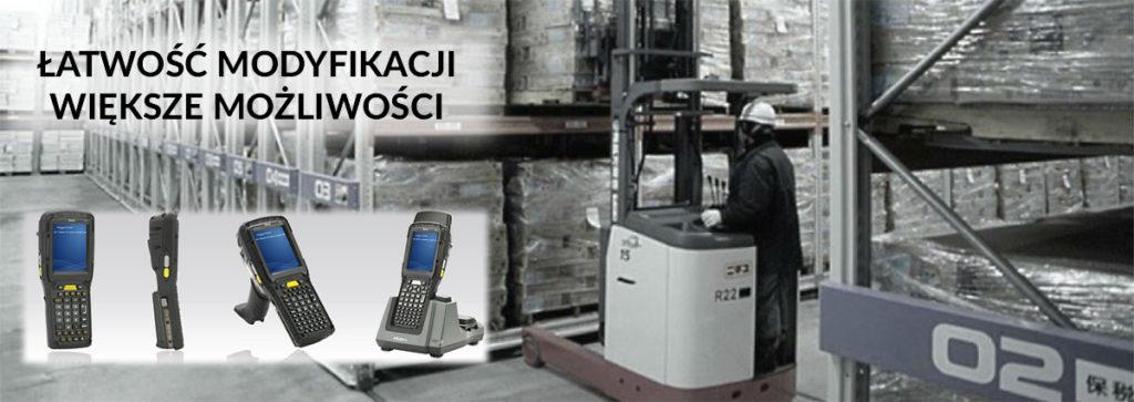 Zebra - Komputery mobilne Omnii XT15 - obsługa magazynu