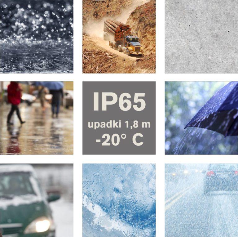 Zebra Workabout PRO 4 - mobilny komputer przemysłowy - klasa ochrony IP65