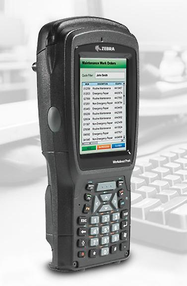 Zebra Workabout Pro 4 mobilny komputer przemysłowy - wersja Short - lewy przód