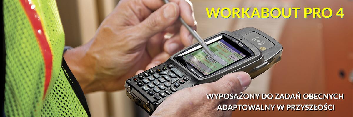 Zebra Workabout Pro 4 mobilny komputer przemysłowy - baner