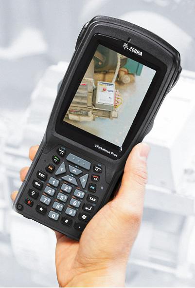 Zebra Workabout Pro 4 mobilny komputer przemysłowy - aparat fotograficzny 8 MP