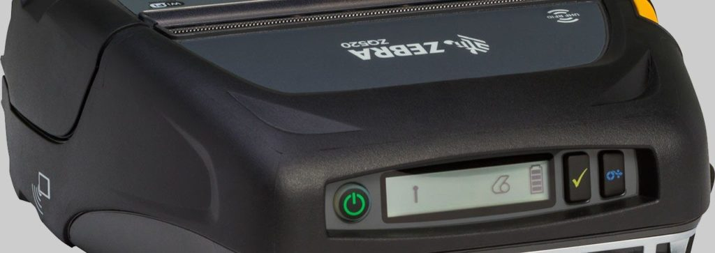 Zebra ZQ520 Mobile Printer Display