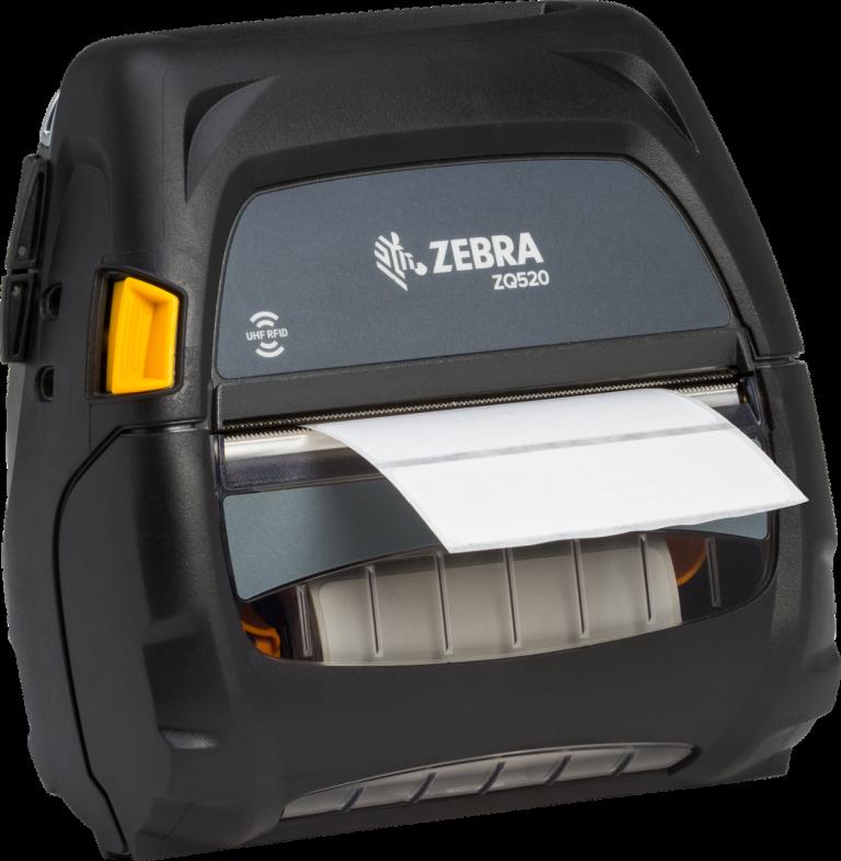 Zebra ZQ520 Drukarka mobilna UHF RFID