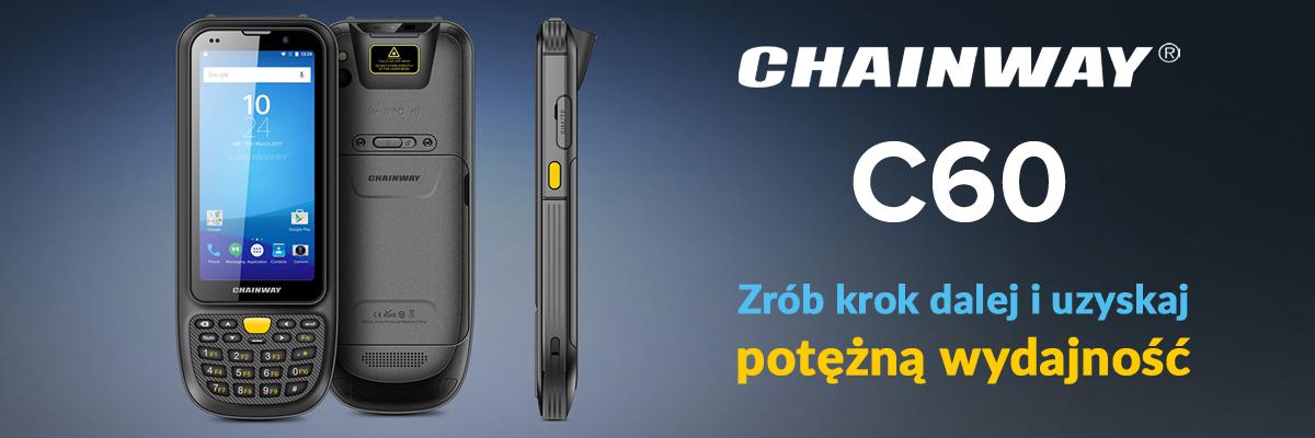 Chainway C60 - ręczny mobilny komputer przemysłowy - baner